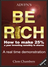 ADVFN's Be Rich by Clem Chambers, published by ADVFN Books